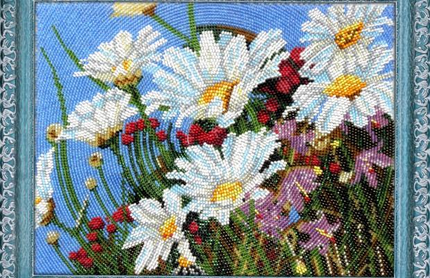 Вышивка бисером картины, полная зашивка больших размеров
