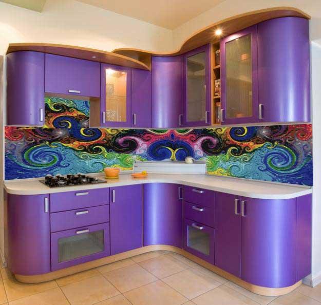 Мозаичное искусство! Дизайн комнаты