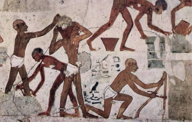 О сверлильных станках в Древнем Египте