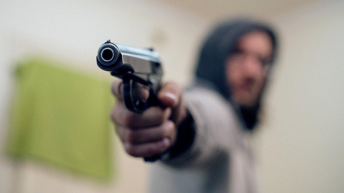 Житель Читы выстрелил в маши…