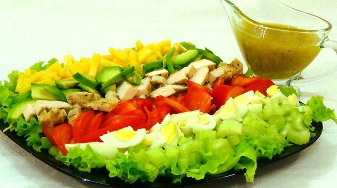 Настоящий Кобб салат