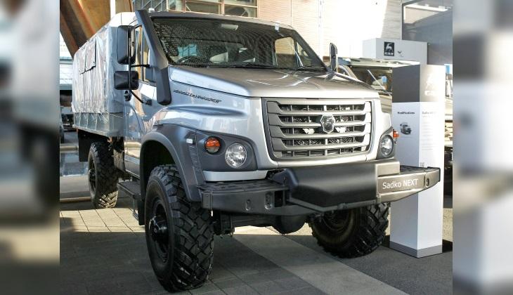 ГАЗ представил новый внедорожный грузовик «Садко Next»