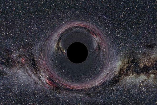 Реальные размеры черных дыр (2 фото + видео)
