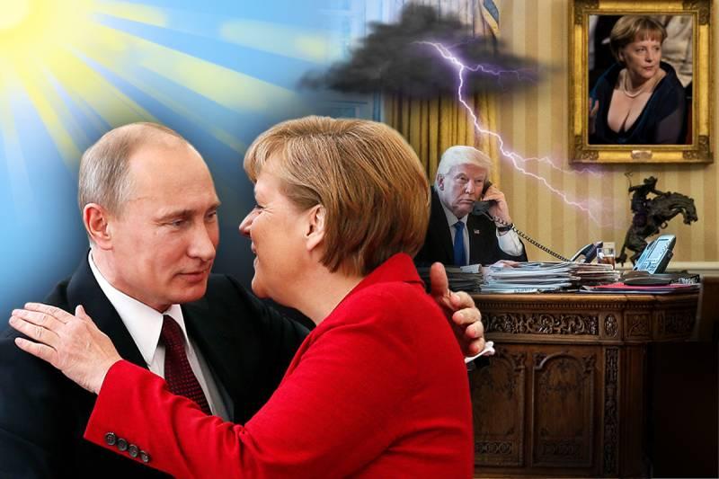 Европа без Америки: что ждать от встречи Путина и Меркель...