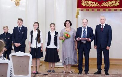 Собянин вручил награды и благодарности жителям Москвы