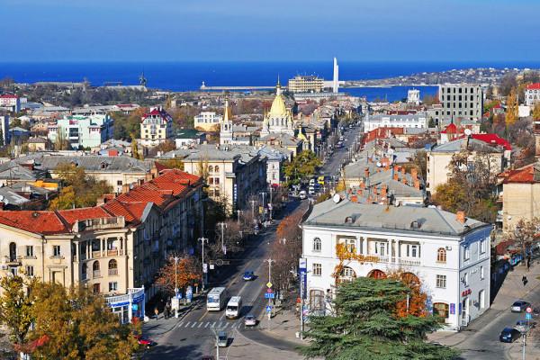 Большая Морская в Севастопол…