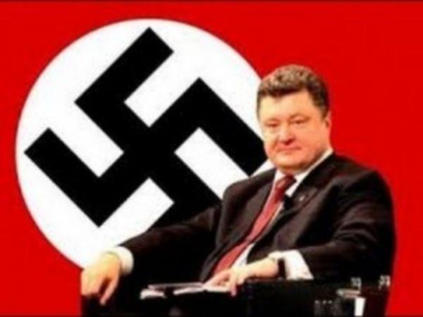 Достойный наследник фашистской Германии...