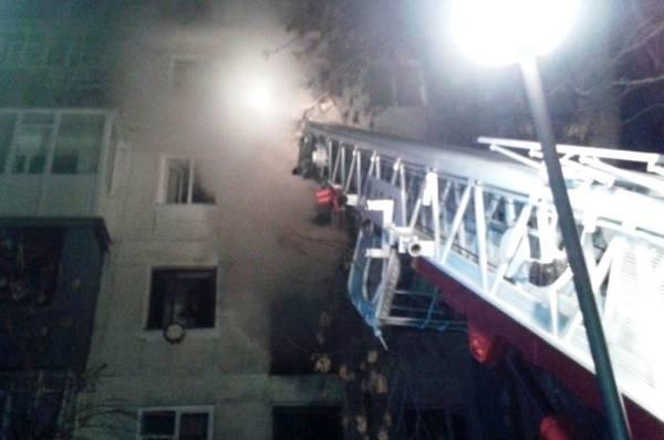 В Бугульминском районе по вине ребенка едва не сгорела квартира