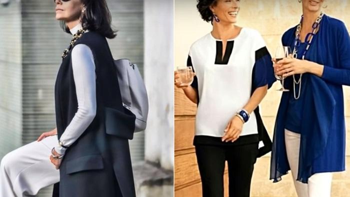 модная одежда для женщин после 50 лет