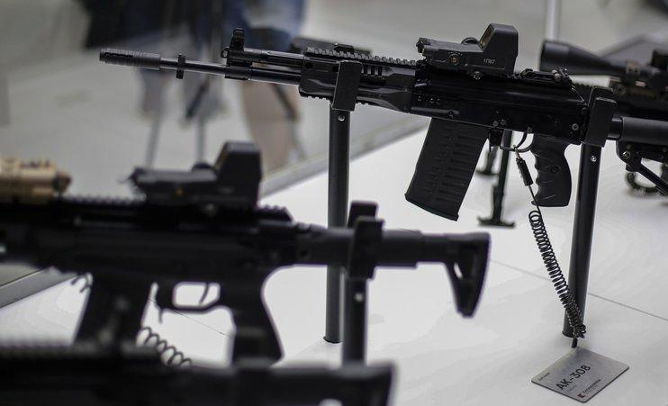 Россия впервые заняла второе место в мире по продаже оружия