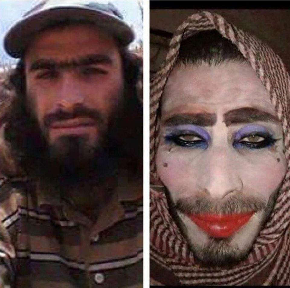В Мосуле поймали бородатых б…