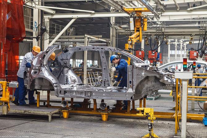 Экскурсия по автомобильному заводу «Chery» в Китае