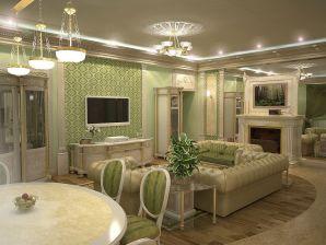 Как правильно расставить мебель в комнате