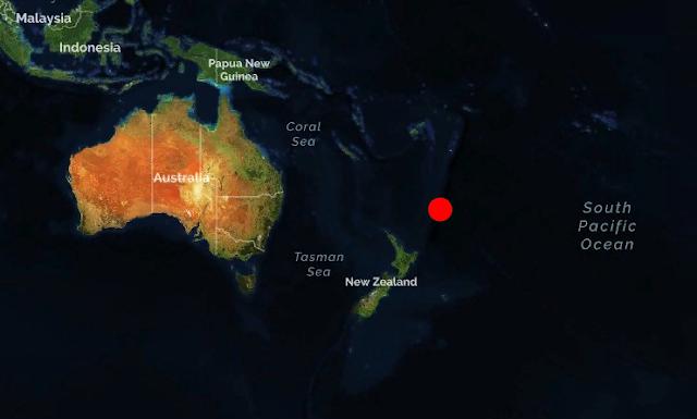Новая Зеландия. Землетрясение магнитудой 6.5