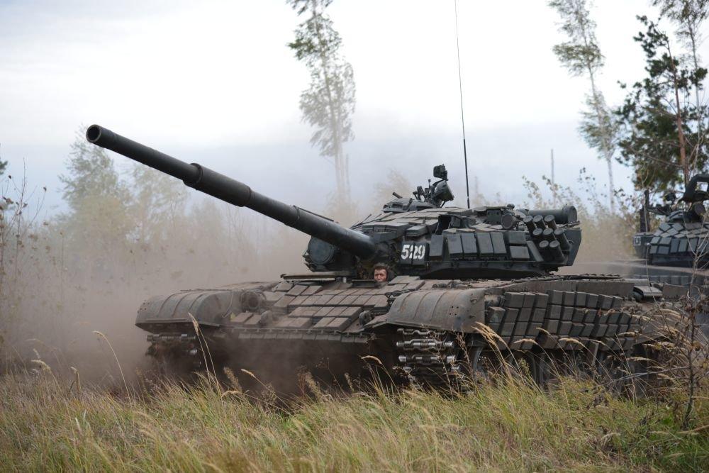 Таманскую дивизию полностью перевооружили на новые танки