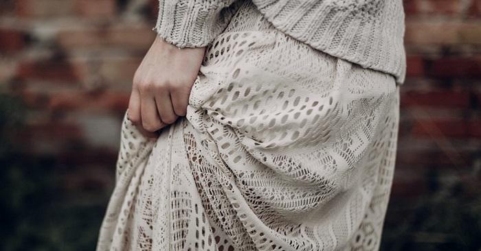 Подборка платьев с кружевом