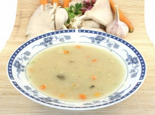 Бельгийский куриный суп