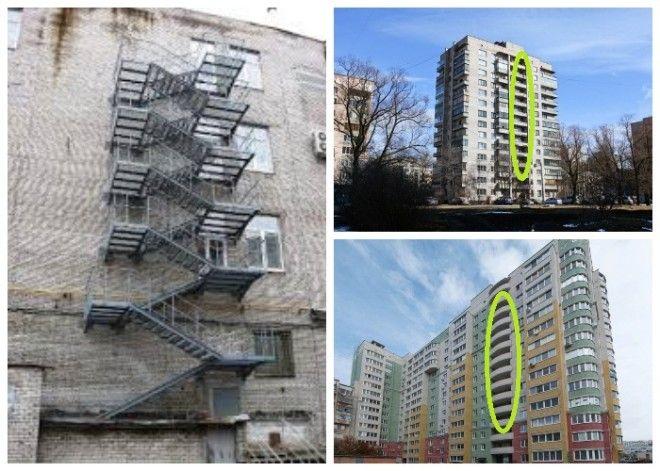 При строительстве домов выше 9 этажей должны создаваться незадымляемые лестницы