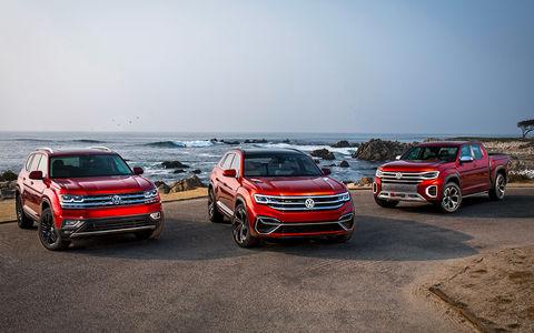 Volkswagen Teramont размножается: тест-драйв будущего кроссовера и вероятного пикапа