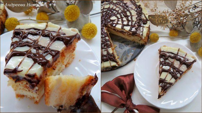 Венгерская творожная ватрушка с шоколадной заливкой — волшебный десерт