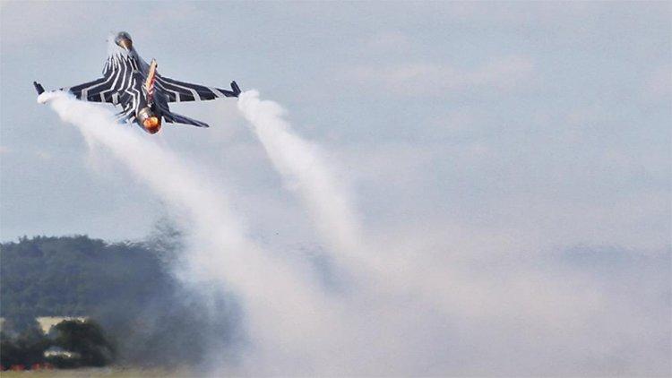 Бельгийский «профессионал» расстрелял собственный F-16 на авиабазе Флоренн