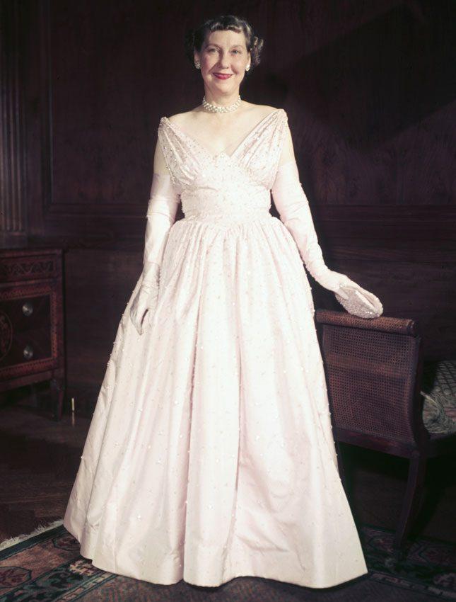 Мейми Эйзенхауэр, 1953