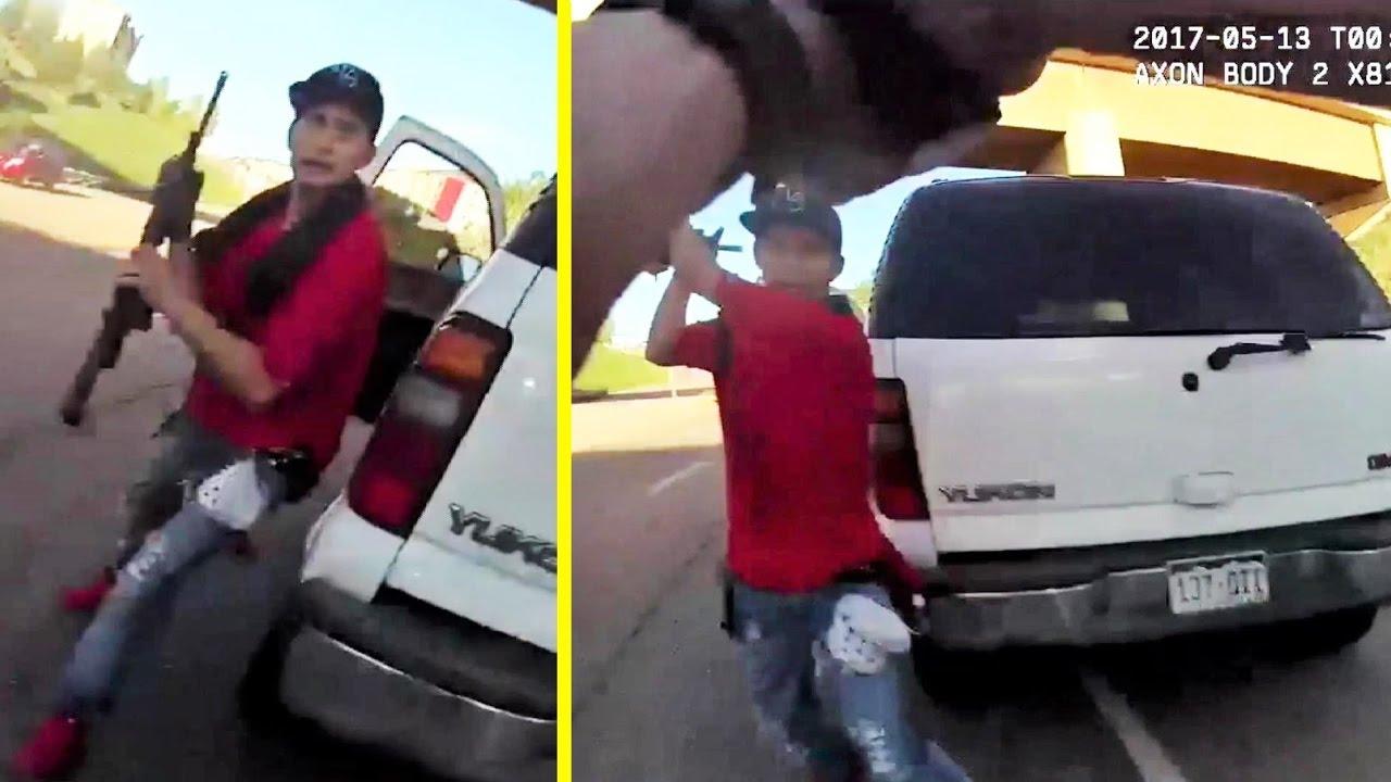 Тем временем в Америке: Нападение на заместителя шерифа