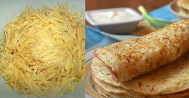 Необыкновенные и вкусные блины из картофеля
