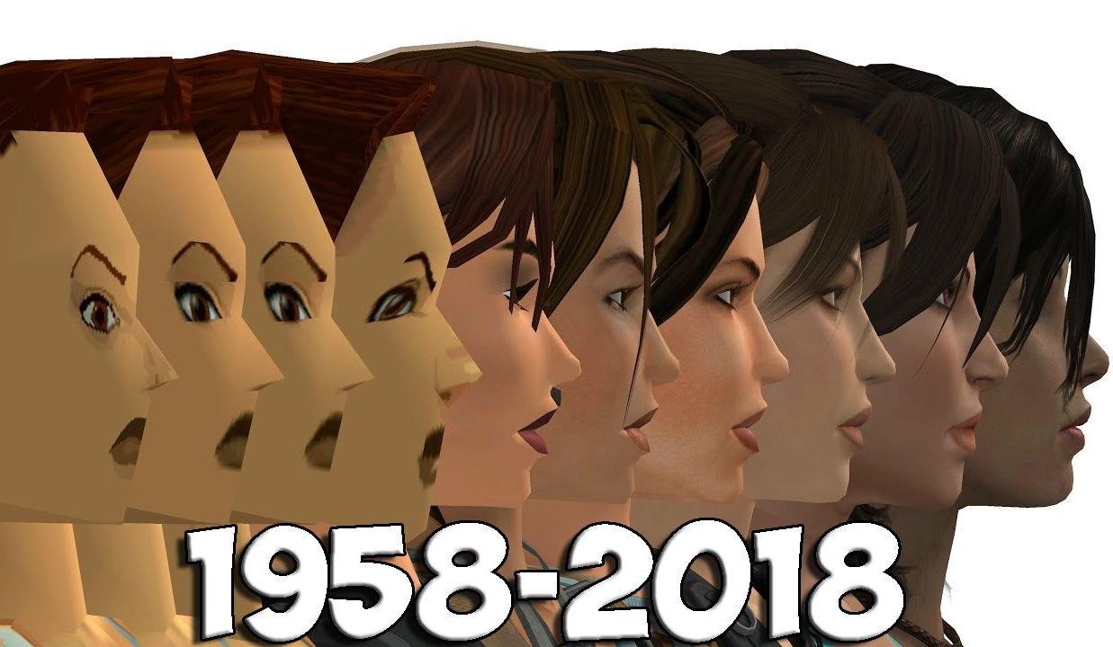 Эволюция графики в видеоиграх с 1958 года по наши дни