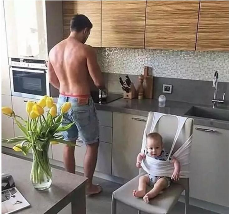 Как зафиксировать малыша