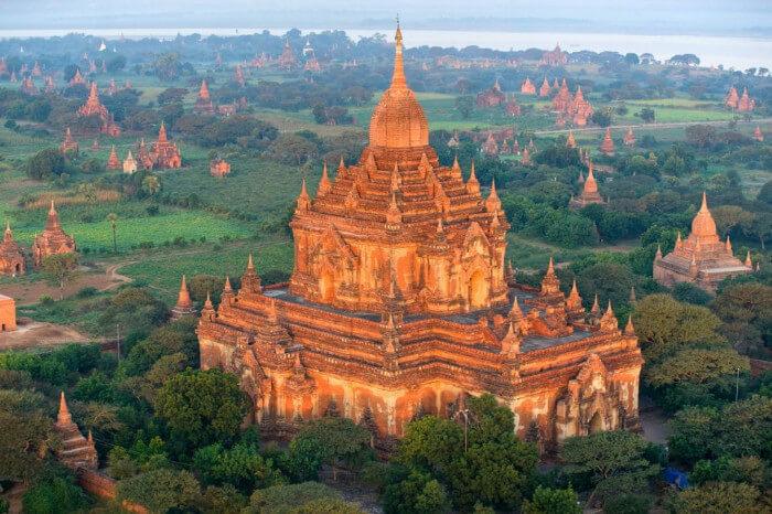 Паган (Баган) — древний город-призрак в Мьянме