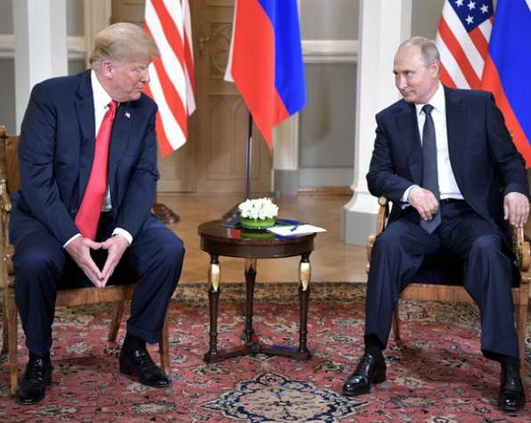 """""""Путин привел на переговоры …"""