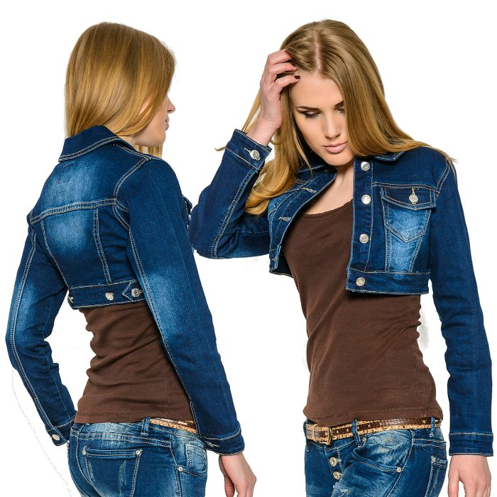 Купить Оптом Куртки Джинсовые