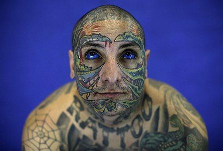Ежегодный тату-фест в Бразилии