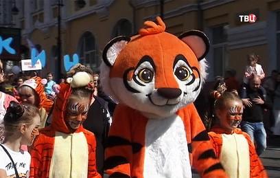 Во Владивостоке отмечают День тигра