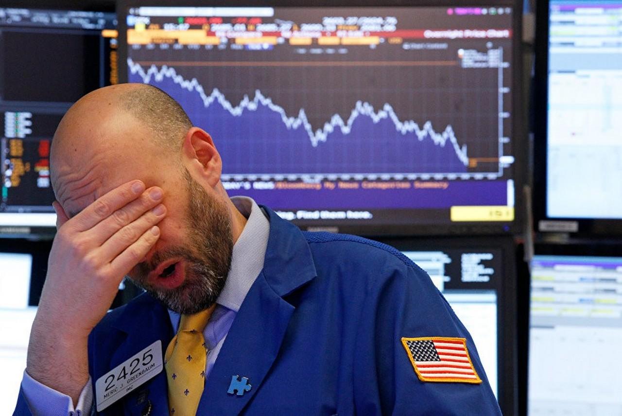 Обвал американского фондового рынка в пользу России