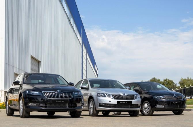 Казахстанский завод «Азия Авто» возобновил выпуск Skoda