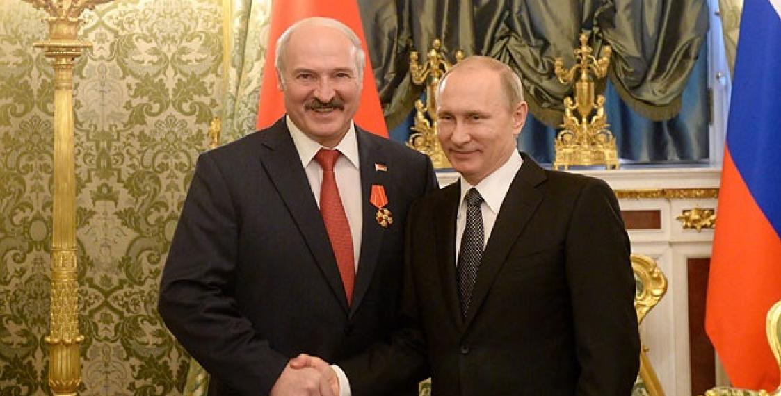 Путин и Лукашенко проведут переговоры в Могилеве