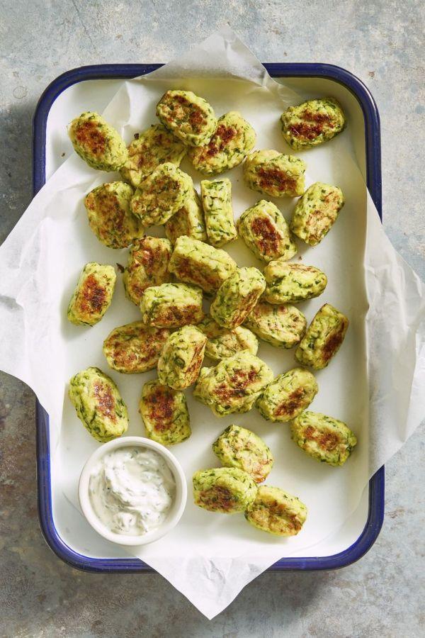 Аппетитные котлетки из кабачков с сыром в духовке