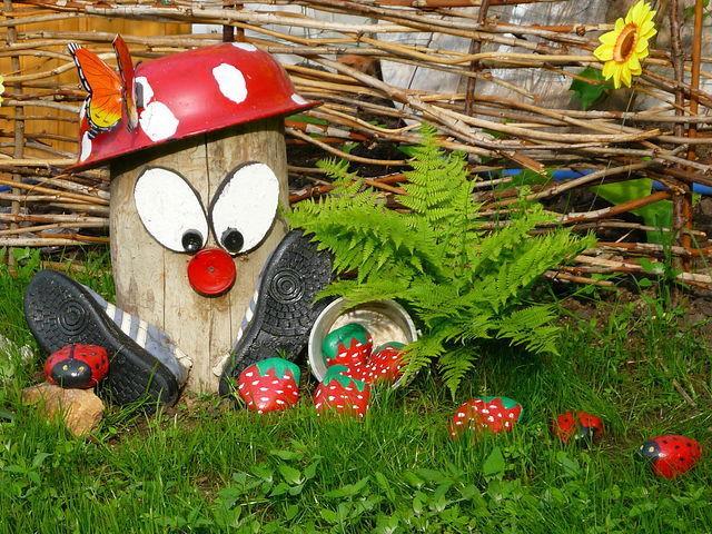 Поделки для сада огорода сделанные своими руками