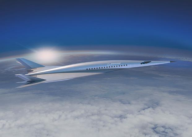 Boeing показал концепт гиперзвукового пассажирского самолета