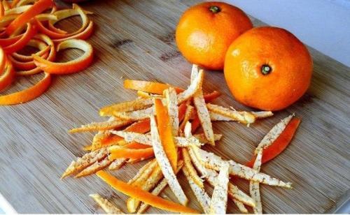 Кожура мандарина. Применение для профилактики болезней.