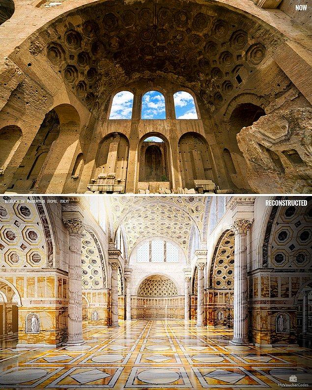 Базилика Максенция, Рим, Италия