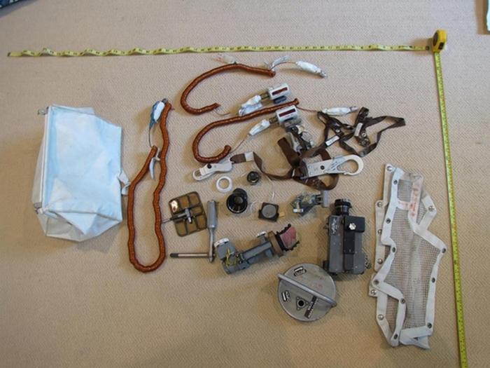 Артефакты, которые побывали на «Аполлоне-11».