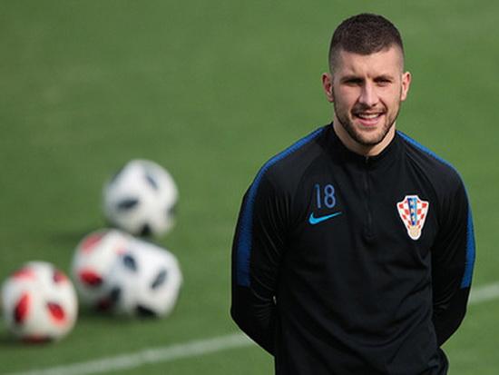 Футболист сборной Хорватии п…