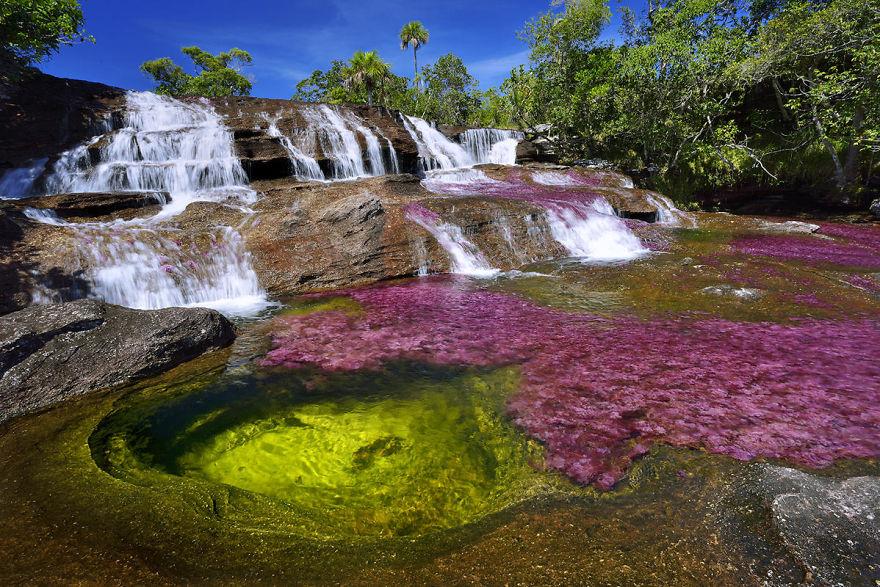Яркие краски самой красивой реки в мире