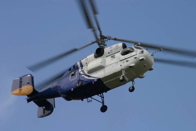 Россия поставит в Турцию и Таиланд вертолеты Ка-32