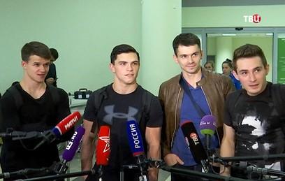 Российские гимнасты вернулис…