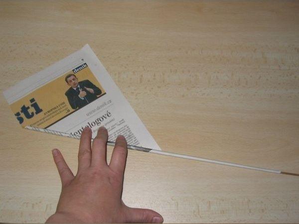 Как сплести корзинку из газеты