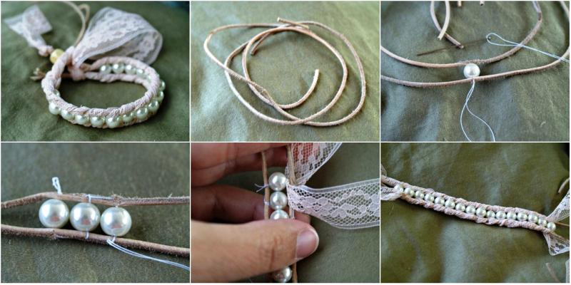 простые браслеты своими руками
